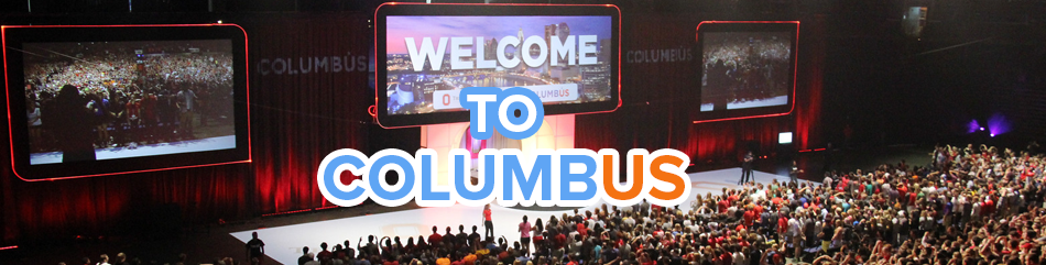Featured news item: Columbus Welcome event